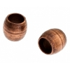 Metal Bead 4X3.4x1.8mm Antique Copper